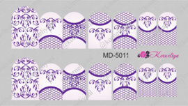 Metall Water Decal MD 5011