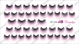 Water Decal - Nail Wrap WD 1049