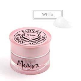 MOYRA Fusion Acryl Gel WHITE POT 5 Gram