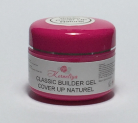 Korneliya Classic Builder Gel Cover UP Naturel  15 Gram