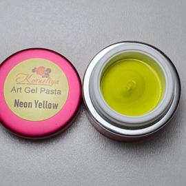Korneliya Art Gel Pasta Neon Geel 5 ml