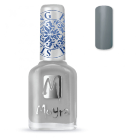 Moyra Stamping Nail Polish 12ml SP23 GREY