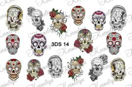 RhineStone decal 3DS 14