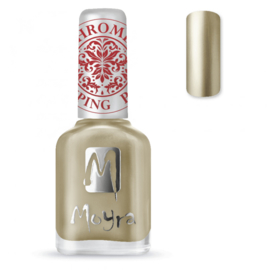 Moyra Stamping Nail Polish 12ml SP24 CHROME GOLD