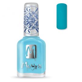 Moyra Stamping Nail Polish 12ml SP22 TURQUOISE
