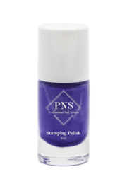 PNS Stamping Polish No.08 Violet Glitter