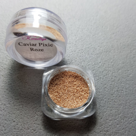 Caviar Pixie Metallic Roze 0,6-0,8 mm