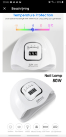 SUN UV LED LAMP X5 MAX - 54 Watt