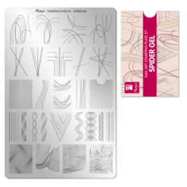 Moyra Stamping Plate 87 Spidergel