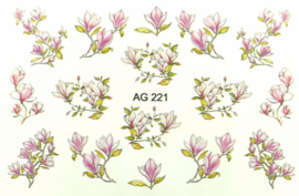 Airbrush Waterdecal   AG 221