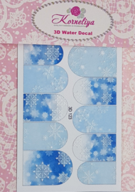 3D Waterdecal - 3D 123