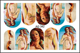 Airbrush Waterdecal   AG 342