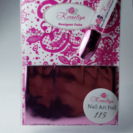Korneliya Nailart Folie 115 Pink