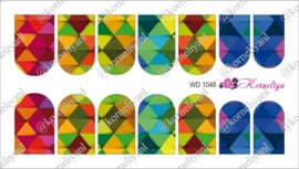 Water Decal - Nail Wrap WD 1048
