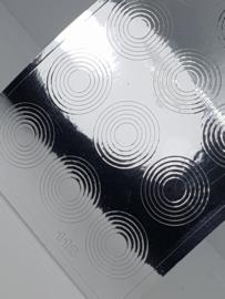 StickOn  Metallic Zilver nr 115 Rondjes