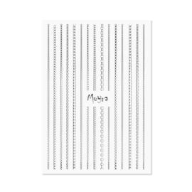 Moyra Nailart Strip Chain 02 Silver
