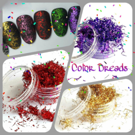 Color Dreads Set 7 Stuks