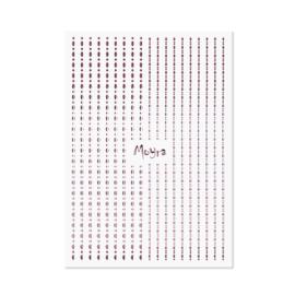 Moyra Nailart Strip Dots 03 Rose Gold