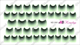 Water Decal - Nail Wrap WD 1061