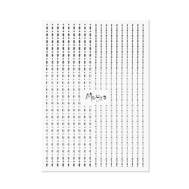 Nailart Strip Dots 02 Silver