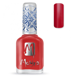 Moyra Stamping Nail Polish 12ml SP02 RED