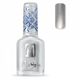 Moyra Stamping Nail Polish 12ml SP08 SILVER