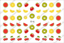 3D Waterdecal - 3D 44 Fruit