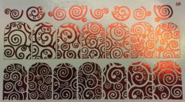 Korneliya Folie Decal 58 Red / Rood