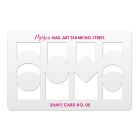 Moyra Shape Card nr 5