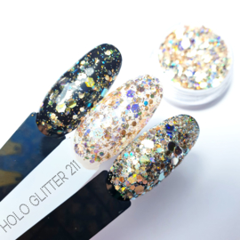 Korneliya HOLO Glitter Mix 211