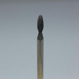 Korneliya Frees Bitje Diamant Vlam afgerond Blauw 2,7 mm