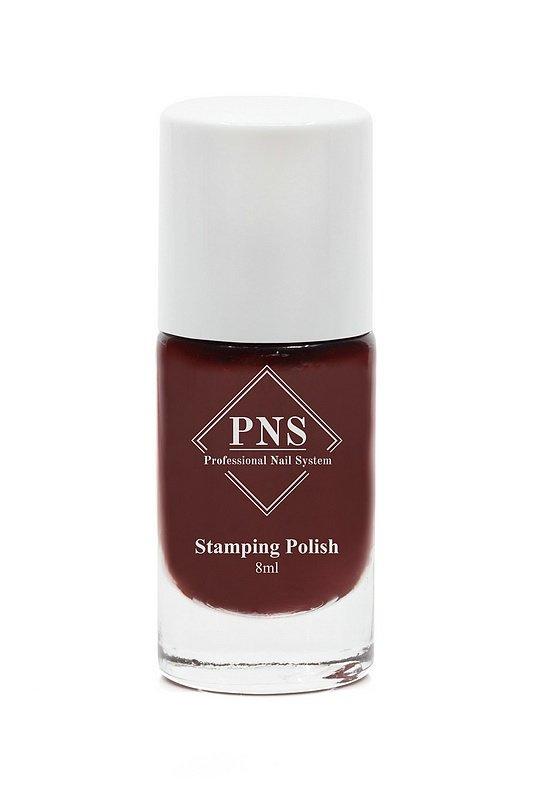 PNS Stamping Polish No.66 Donker Rood
