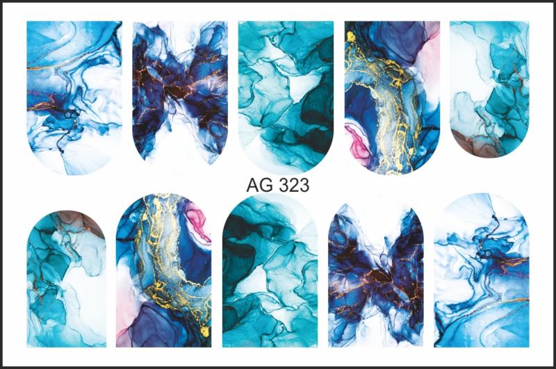 Korneliya Airbrush Waterdecal   AG 323