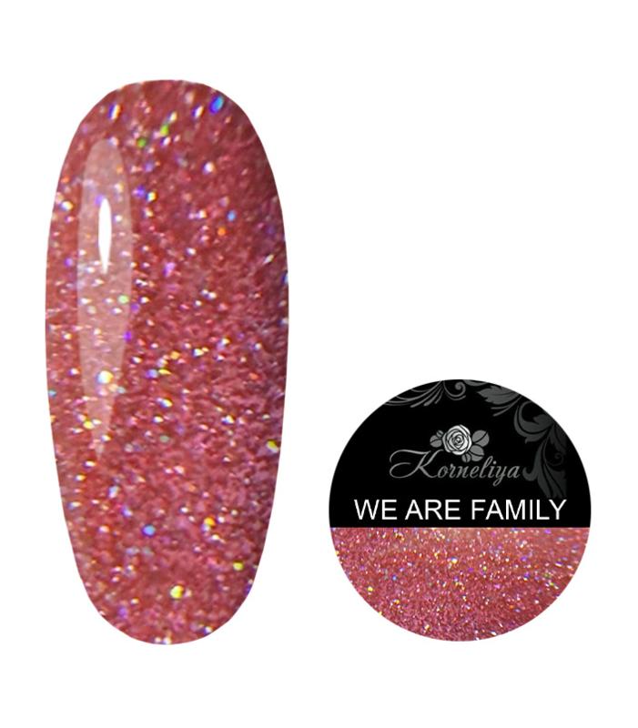 Korneliya Liquid Gel Disco Collection WE ARE FAMILY 12ml