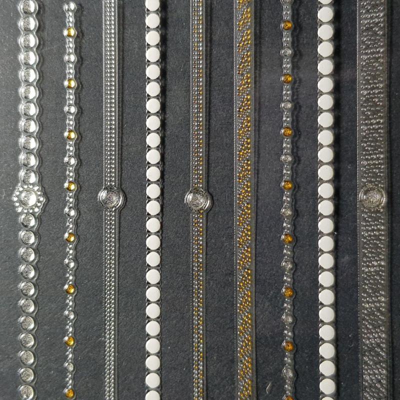 3D Nail Jewels - NJ12 Fingerchain