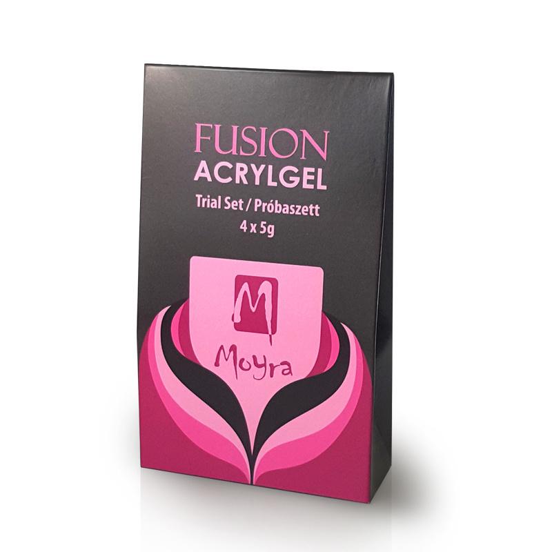 MOYRA Fusion Acryl Gel Trial set 4 x 5g Gram