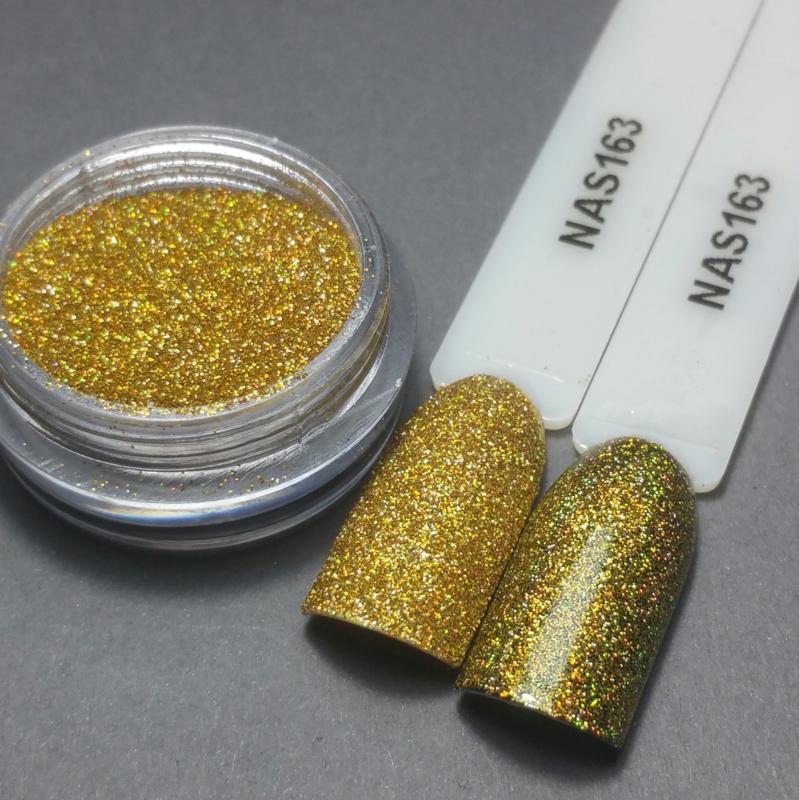 Nailart Decor Zand 163 Holografic Prosecco Goud