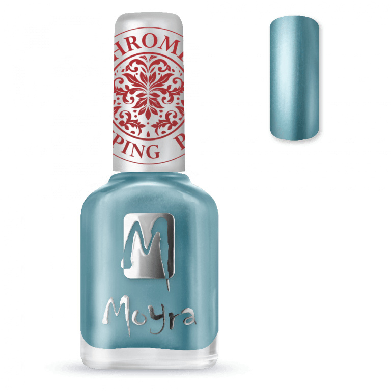 Moyra Stamping Nail Polish 12ml SP26 CHROME BLUE