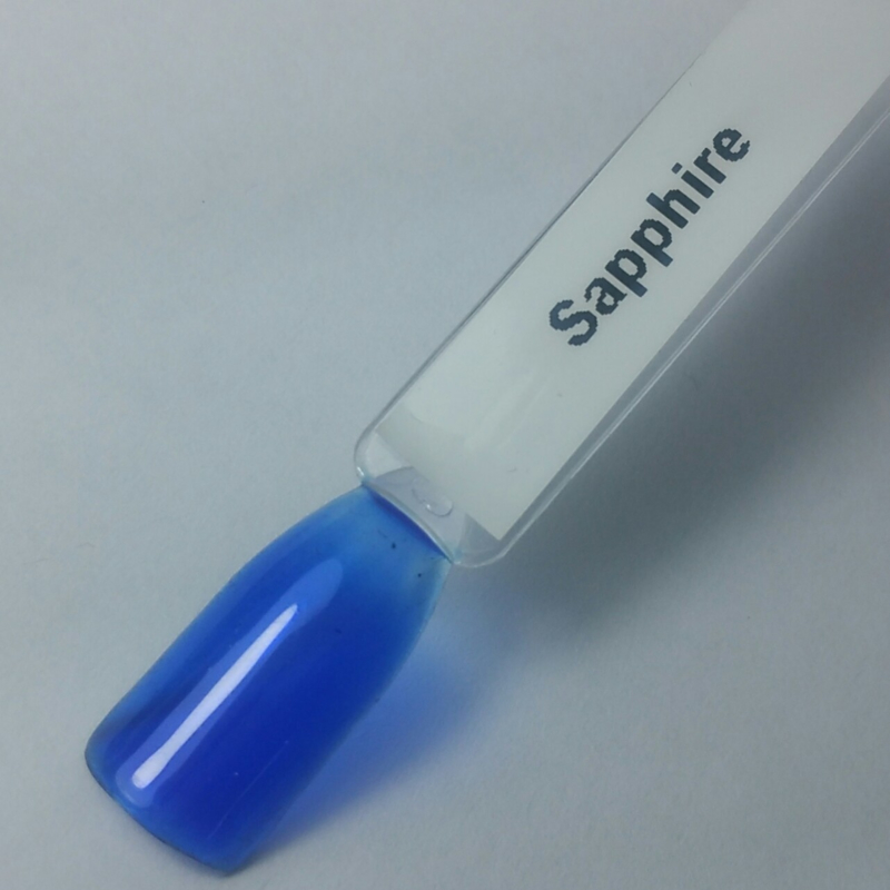 Liquid Glass Gel Saphire Blue