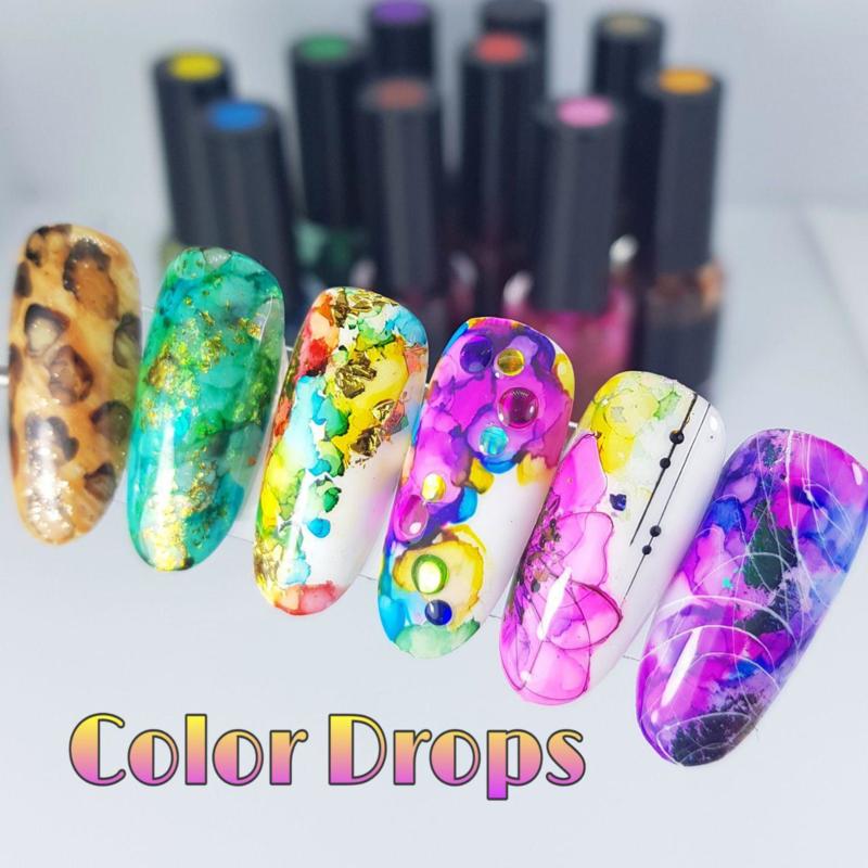 Korneliya Set met 10 kleuren COLORDROPS