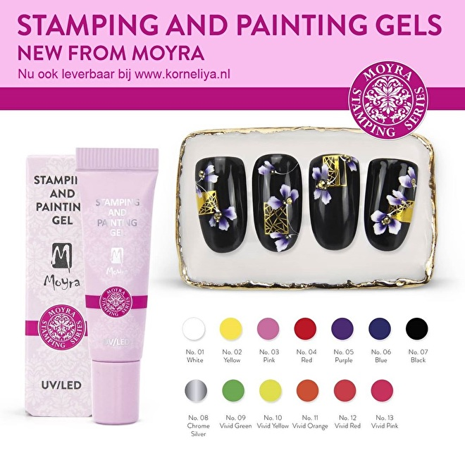 Moyra Stamping and Painting Gel