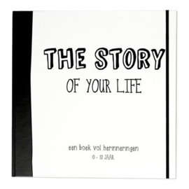 Invulboek 0-12 | The Story of Your Life