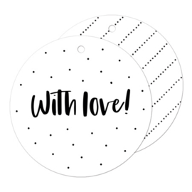 Cadeaulabel | With love