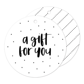 Cadeaulabel | A gift for you
