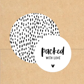 Stickers | Packed with love | Wit