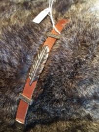 Leren armband 17cm
