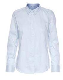 Basis blouse in lichtblauw