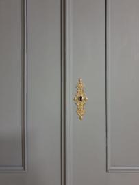 Antieke mahonie Biedermeier poortkast F&B Down Pipe grijs XL