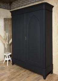 Antieke spitsboog / poortkast Nocturnal zwart XL