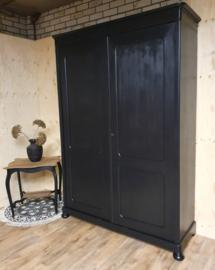 Antieke landelijke kast Pure Black